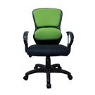 [ 家事達]台灣 OA-Y327 中型辦公椅(綠) 特價 洽談椅 電腦椅