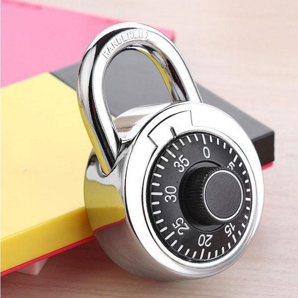 保險柜保險箱轉盤密碼鎖掛鎖特大防盜房門大門健身房金屬鎖具【時尚家居館】