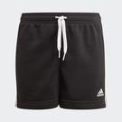 Adidas ESSENTIALS 童裝 短褲 慢跑 休閒 口袋 三條線 棉【運動世界】GN4057