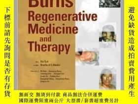 二手書博民逛書店Burns罕見Regenerative Medicine and