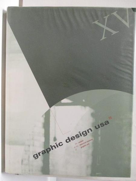 【書寶二手書T6/設計_DYZ】Graphic Design usa