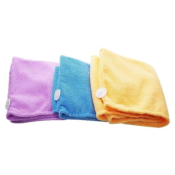 超強吸水性神奇乾髮帽(1入) 顏色隨機出貨【小三美日】