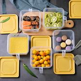密封盒 儲物盒 收納盒 帶柄收納盒 冰箱收納盒 塑料盒 帶手炳微波保鮮盒(1.4L)【Z091】生活家精品