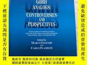 二手書博民逛書店TREATMENT罕見WITH GnRH ANALOGS:CONTROVERSIES AND PERSPECTIV