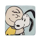 HOLA Snoopy系列方形記憶棉坐墊-史努比與查理布朗