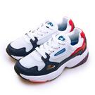 LIKA夢 ARNOR 輕量時尚復古慢跑鞋 精彩潮流老爹鞋系列 白藍紅 92006 女