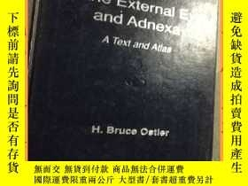 二手書博民逛書店英文書罕見diseasses of the external eye and adnexa a text and