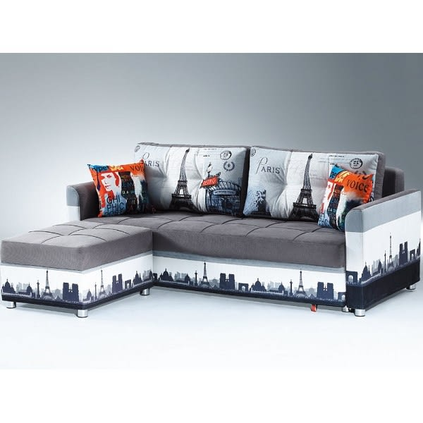 沙發 L型布沙發 PK-509-1 L型沙發床(左右通用)【大眾家居舘】