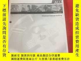 二手書博民逛書店CGA罕見AU2 Lesson Notes Advanced External Auditing 自定以圖為準奇