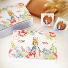 月餅包裝盒    百花月兔*5個長盒   13.5*21CM   想購了超級小物