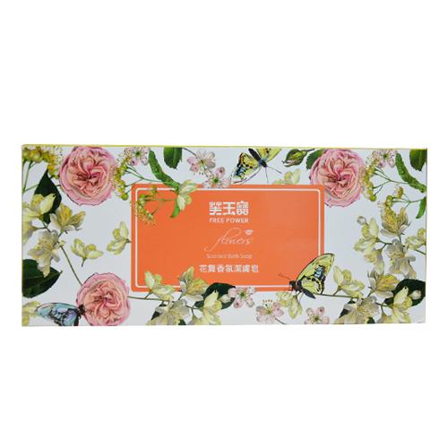 【奇奇文具】芙玉寶 花舞香氛潔膚皂85g