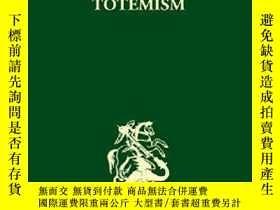 二手書博民逛書店The罕見Structural Study Of Myth And TotemismY256260 Leach