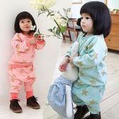 韓版《閃耀五角星》棉絨 長袖套裝