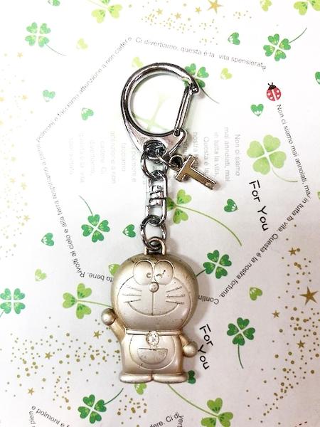 【震撼精品百貨】Doraemon_哆啦A夢~Doraemon鑰匙鎖圈-英文字母T#10723