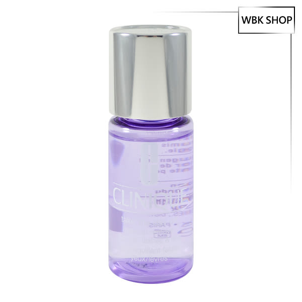 Clinique 紫晶唇眸淨妝露 30ml Take The Day Off Make Up Remover - WBK SHOP