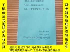 二手書博民逛書店The罕見International Classification of SLEEP DISORDERS 見描述。