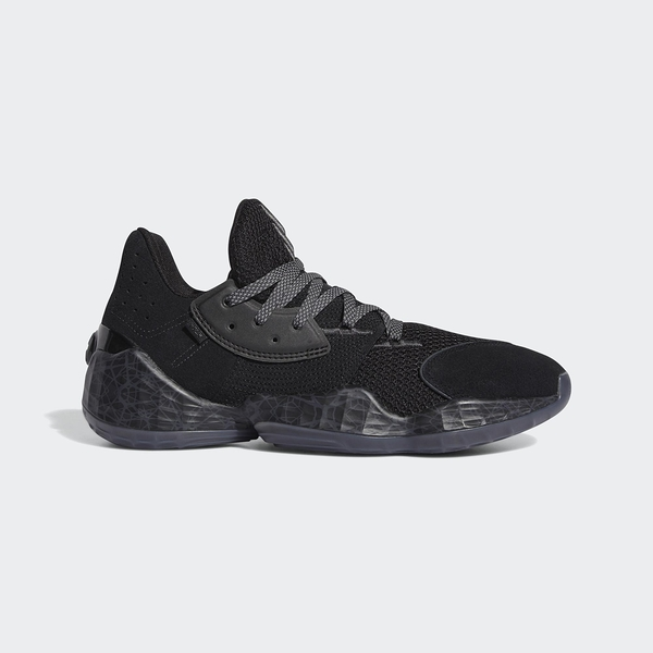 Adidas 男款黑HARDEN VOL. 4 籃球鞋-NO.FV5572