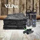 寵物洗澡吸水卡通毛巾貓咪狗狗仿鹿皮浴巾【小獅子】