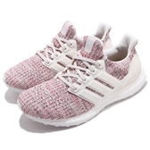 adidas 慢跑鞋 Ultra Boost W 4.0 彩虹 彩色 白 運動鞋 頂級緩震舒適 運動鞋 女鞋【PUMP306】 BB6496