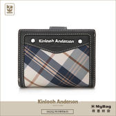 Kinloch Anderson 金安德森 皮夾 英式學院 黑色 經典釦式短夾  KA151215BKF  MyBag得意時袋