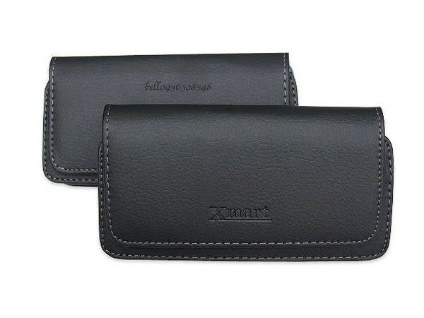 Xmart 腰掛式手機皮套 腰掛皮套 橫式皮套 腰夾 磁扣 保護套 手機套 尺寸153*84*17mm R22