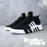 Adidas EQT Bask ADV 黑白 網布 襪套 慢跑 男 (布魯克林) 2018/12月 D96766