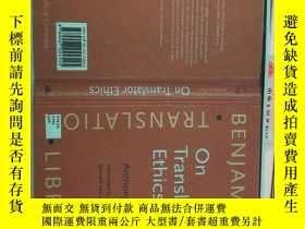 二手書博民逛書店On罕見Translator EthicsY312703 Ant