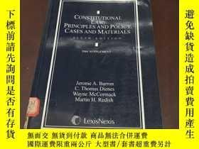 二手書博民逛書店Constitutional罕見Law:Principles a
