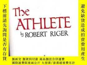 二手書博民逛書店THE罕見ATHLETE BY ROBERT RIGER 羅伯特