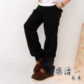 MIT台灣製厚磅彈性斜口袋小直筒牛仔工作褲(共二色) 樂活衣庫【101】