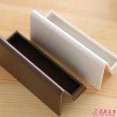 簡約商務辦公桌面 擺設件便條卡名片座名片盒4 色