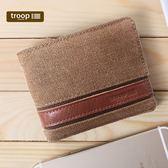 【TROOP】經典品格CLASSIC錢包/TRP0452BN(棕色)