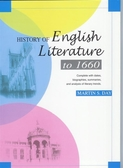 (二手書)History of Eng. Lit. to 1660 (3─1)