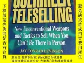 二手書博民逛書店Guerrilla罕見TeleSelling: New Unco