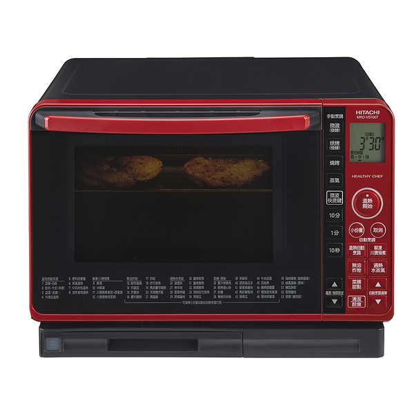 HITACHI日立 22L過熱水蒸氣烘烤微波爐 MRO-VS700T (日本原裝進口)