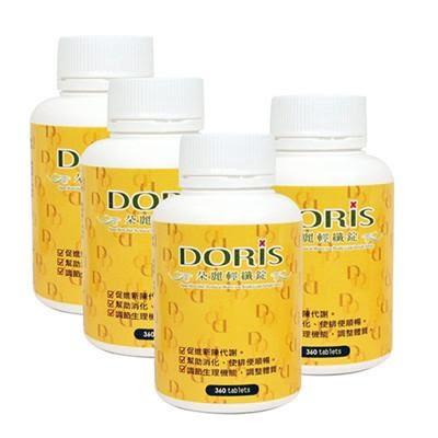 Doris 《人氣團購組》朵麗輕纖錠360錠X4瓶