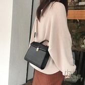 韓國ins冬單品百搭新款純色氣質休閒手提包單肩側背包兩背帶包女 自由角落