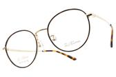 PAUL HUEMAN 光學眼鏡 PHF5174A C04 (琥珀棕-金) 韓系文青圓框款 眼鏡框 #金橘眼鏡