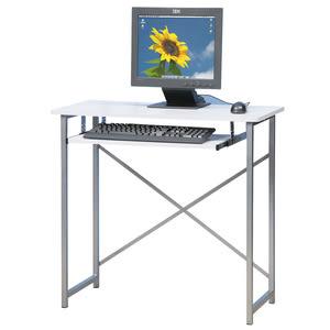 【Homelike】超值電腦桌(二色可選)靚白色