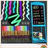電子熒光板專用筆熒光筆6mm黑板手寫LED發光POP彩色記號筆 巴黎春天
