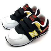 《7+1童鞋》小童 New Balance IV574DSC 迪士尼米奇聯名款  魔鬼氈 慢跑鞋 運動鞋 9415 白色