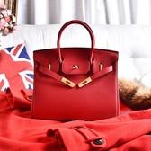 結婚包包新娘包2019年新款紅色婚禮用手提包女包大容量2020鉑金包 滿天星