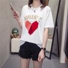 短袖T恤/棉衫 大尺碼XL-4XL夏裝新200斤大碼女裝半袖上衣亮片短袖T恤G860MR11韓衣裳