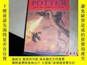二手書博民逛書店HARRY罕見POTTERand the Coblet of F