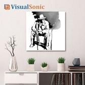 VISUAL SONIC超薄藍牙畫布音箱 Jazz Man