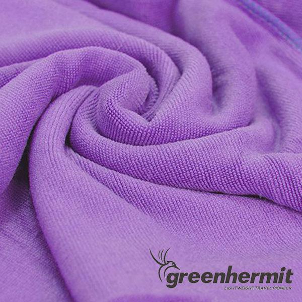 GREEN HERMIT 蜂鳥 Traveling-Towel 快乾吸水毛巾 M TB5202 戶外露營 出國旅行 度假打工 超強吸水