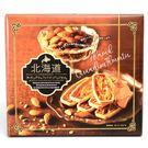 【丸三食品】北海道焦糖杏仁酥船型餅乾禮盒150g(賞味期限:2019.08.20)
