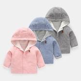 女童外套 嬰兒衣服外套秋裝新生兒春秋女寶寶男童兒童幼兒3上衣1歲Y4055 免運費