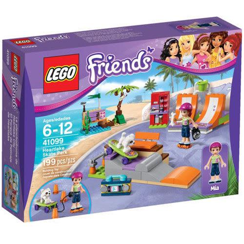 【LEGO 樂高積木】Friends 好朋友系列 - 心湖城滑板公園 LT-41099