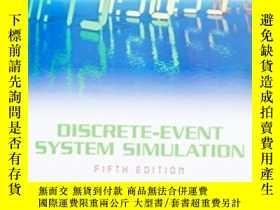 二手書博民逛書店Discrete-event罕見System Simulation (5th Edition)-離散事件系統仿真(